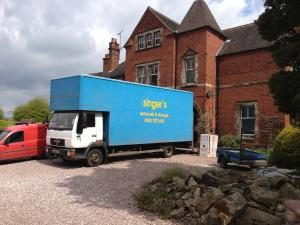 Singer Removals storage